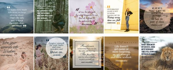 Resilience Quotes Social Images