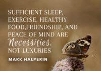 Necessities Not Luxuries by Mark Halperin